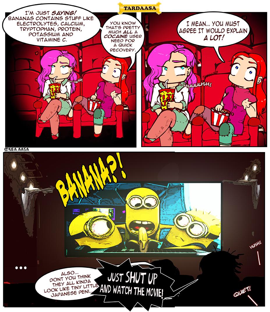 Cinema coke talk